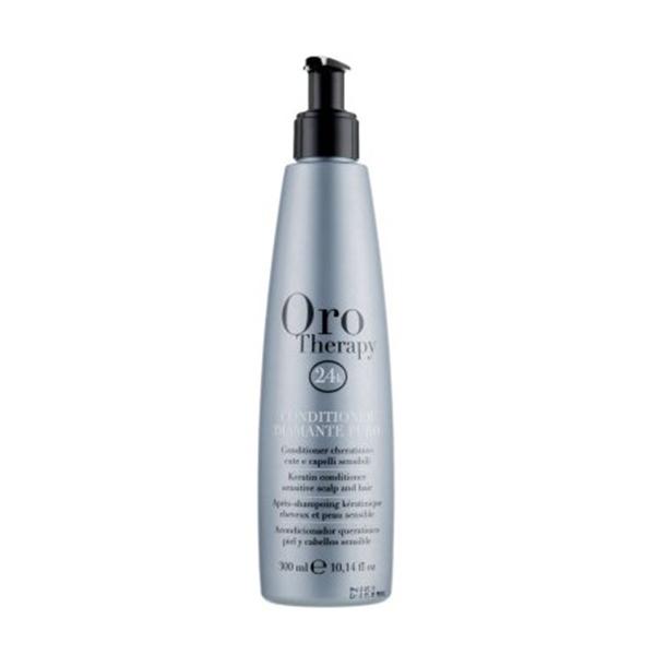 Fanola Oro Therapy 24k Diamante Puro Кондиционер с кератином, микрочастицами золота и бриллианта для чувствительной кожи головы и волос