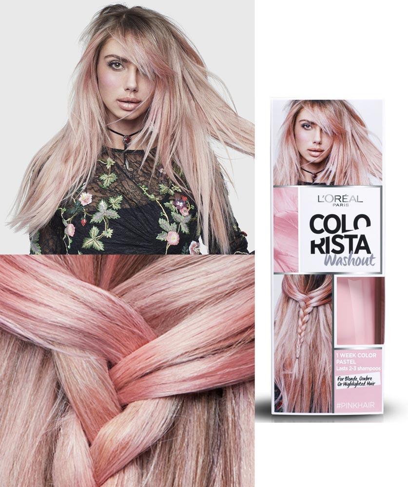 Loreal бальзам для волос оттеночный colorista
