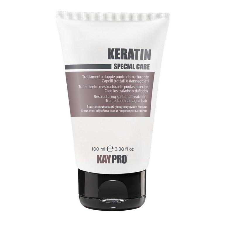 KAYPRO SPECIAL CARE Реструктурирующий  флюид для секущихся кончиков с кератином для химически поврежденных волос