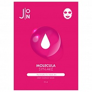 J:ON Тканевая маска для лица змеиный пептид  Molecula Syn-ake Daily Essence Mask