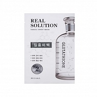 Missha Маска для лица Real Solution Tencel Sheet Mask Pure Whitening