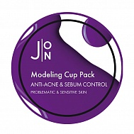 J:ON Альгинатная маска анти-акне и себум контроль Anti-Acne & Sebum Control Modelrng Pack