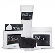 Missha Набор Black Ghassoul Pore Care Set