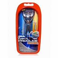 GILLETTE Станок Fusion Proglide Power+2 Кассеты