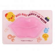 Tony Moly Гидрогелевая маска-патч для губ Kiss Kiss Lovely Lip Patch