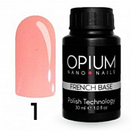 Opium nano nails Базовое покрытие French base color