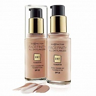 Max Factor Тональная основа Facefinity All Day Flawless 3 in 1