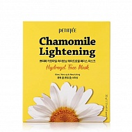 Petitfee Маска для лица гидрогелевая с экстрактом ромашки Chamomile Lightening Hydrogel Face Mask
