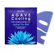 Petitfee Маска для лица гидрогелевая с экстрактом агавы  Agave Cooling Hydrogel Face Mask